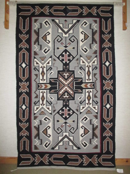Teec Nos Pos Weaving by Mary Clark – Large Size Navajo Rug